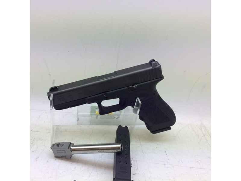 Pistole GLOCK Mod.17 Kal.9 MM LUGER+ Wechsellauf gebr. - Pistolen ...