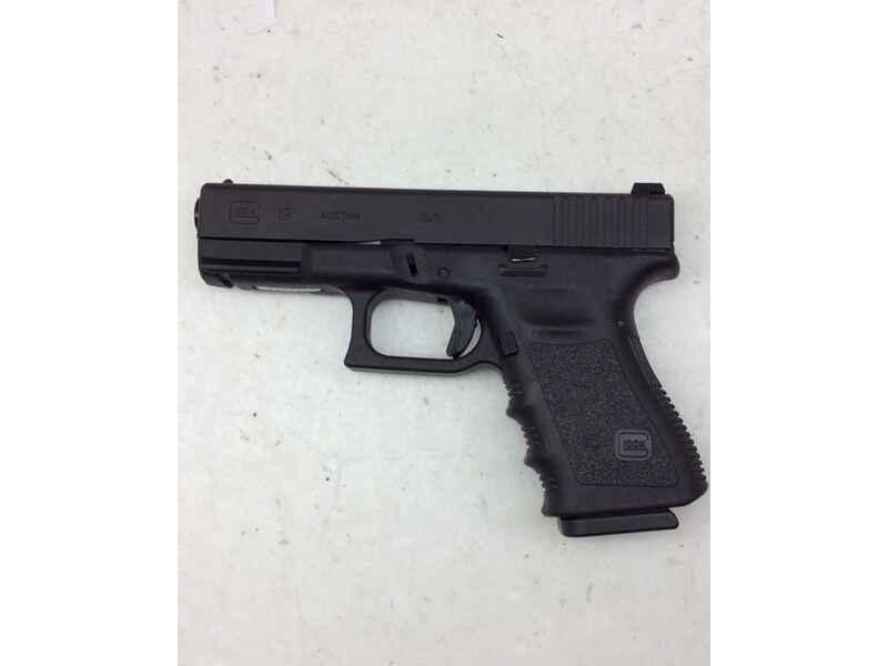 Pistole GLOCK Mod.19 Gen.3 Kal.9 MM LUGER gebraucht - Pistolen ...