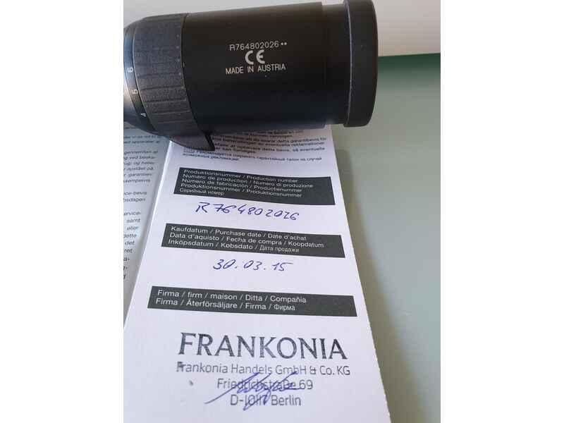 Fernglas Mit Entfernungsmesser Swarovski : Zielfernrohr swarovski z6i 1 6x24 sr absehen 4 i 1. gen