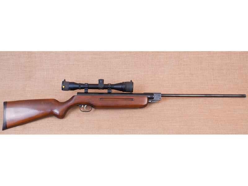 Weihrauch luftgewehr hw35 in 4 5 mm mit weihrauch zielfernrohr 4 x