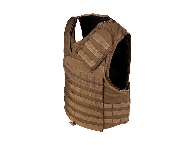 Komplettset Schutzweste Tactical Operator Vest MOLLE + ...