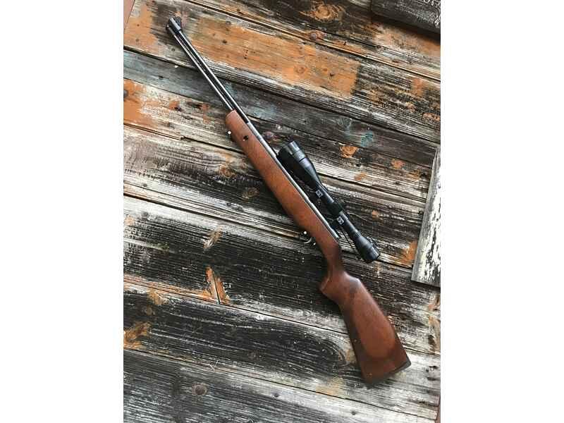 Weihrauch hw 57 luftgewehr mit zielfernrohr walther