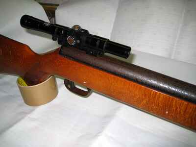 Luftgewehr der fa. anschÜtz mod.335 & zielfernrohr luftdruckwaffen