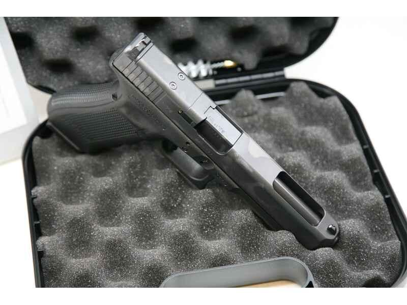Pistole Glock 34 Gen4, MOS, feste Visierung Kaliber 9 mm Luger ...