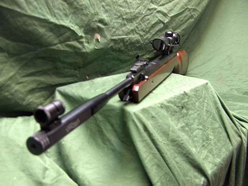 Walther luftgewehr lgv mit ziehlfernrohr neuwertig luftdruckwaffen