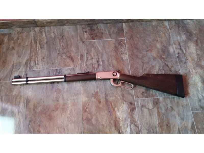 Walther co2 gewehr lever action steel finish co2 waffen