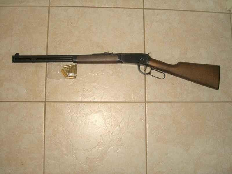 Unterhebel Repetier Gewehr Umarex Legends Cowboy Rifle, Lever Action Co2,  Kaliber 4,5 mm BB