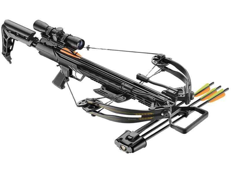 Compound armbrust 175 lbs blade mit zielfernrohr von ek archery