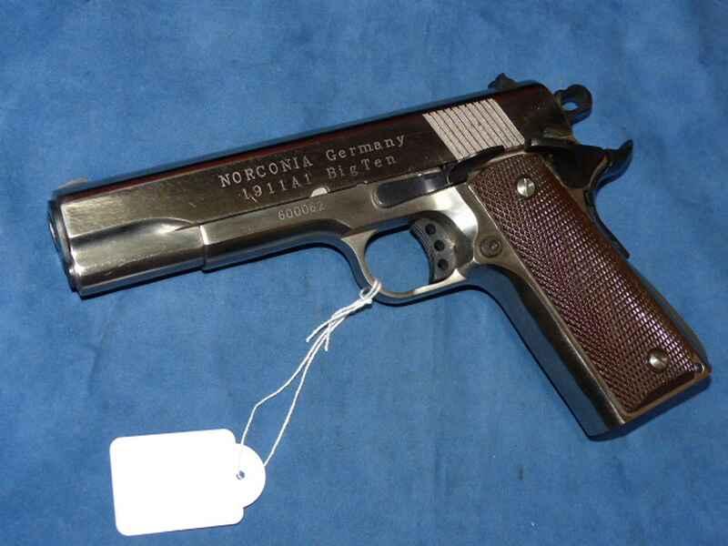 NORCONIA - PISTOLE - Mod. 1911 Big Ten - cal. 45 ACP - IN - CHROM ...