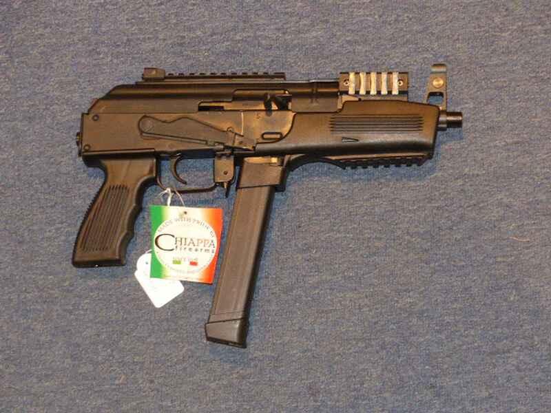 Mini Ak 47 Chiappa Pak 9 Cal 9mm Para Glock Adapter