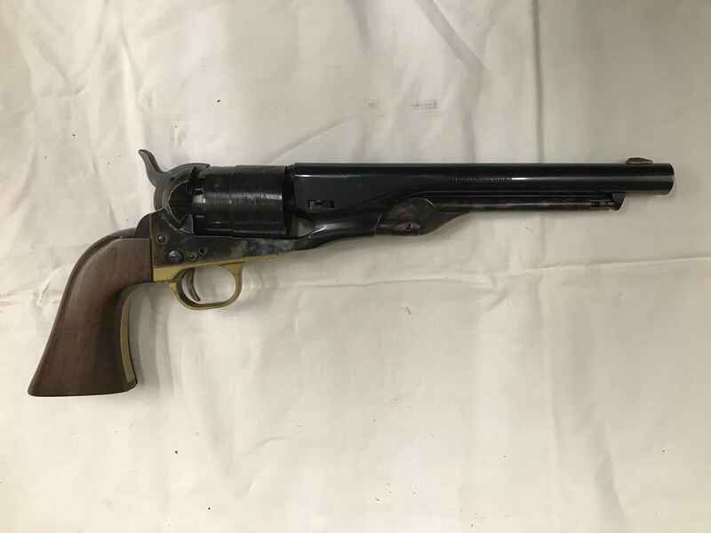 Entfernungsmesser Us Army : Pietta 1860 army black powder revolver 44 kaliber 8 zoll barrel