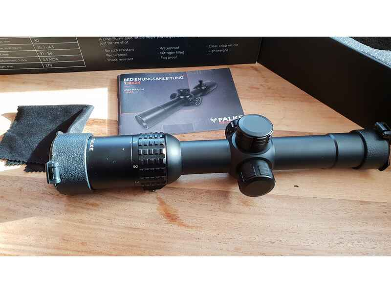 Falke 1 8×24 zielfernrohre optik auctronia.de