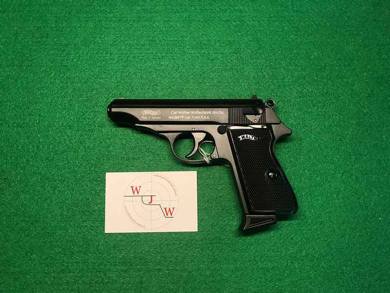 Walther pp 9mm p.a.knall gas & signalwaffen waffen auctronia.de