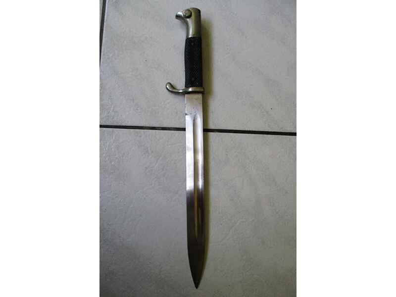 Original K98 Paradebajonett Ausgangsseitengewehr Lang Blankwaffen